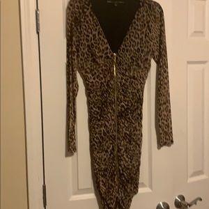Women's Leopard print dress size large